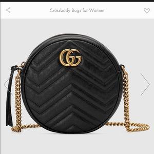 Gucci Marmont mini round bag